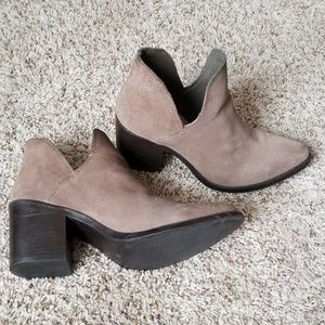 Size 10 leather booties